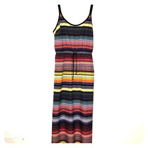 Athlete Maxi Dress Size Small with pockets